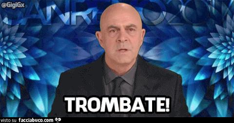 Gif animata: Maurizio Croza dice Trombate